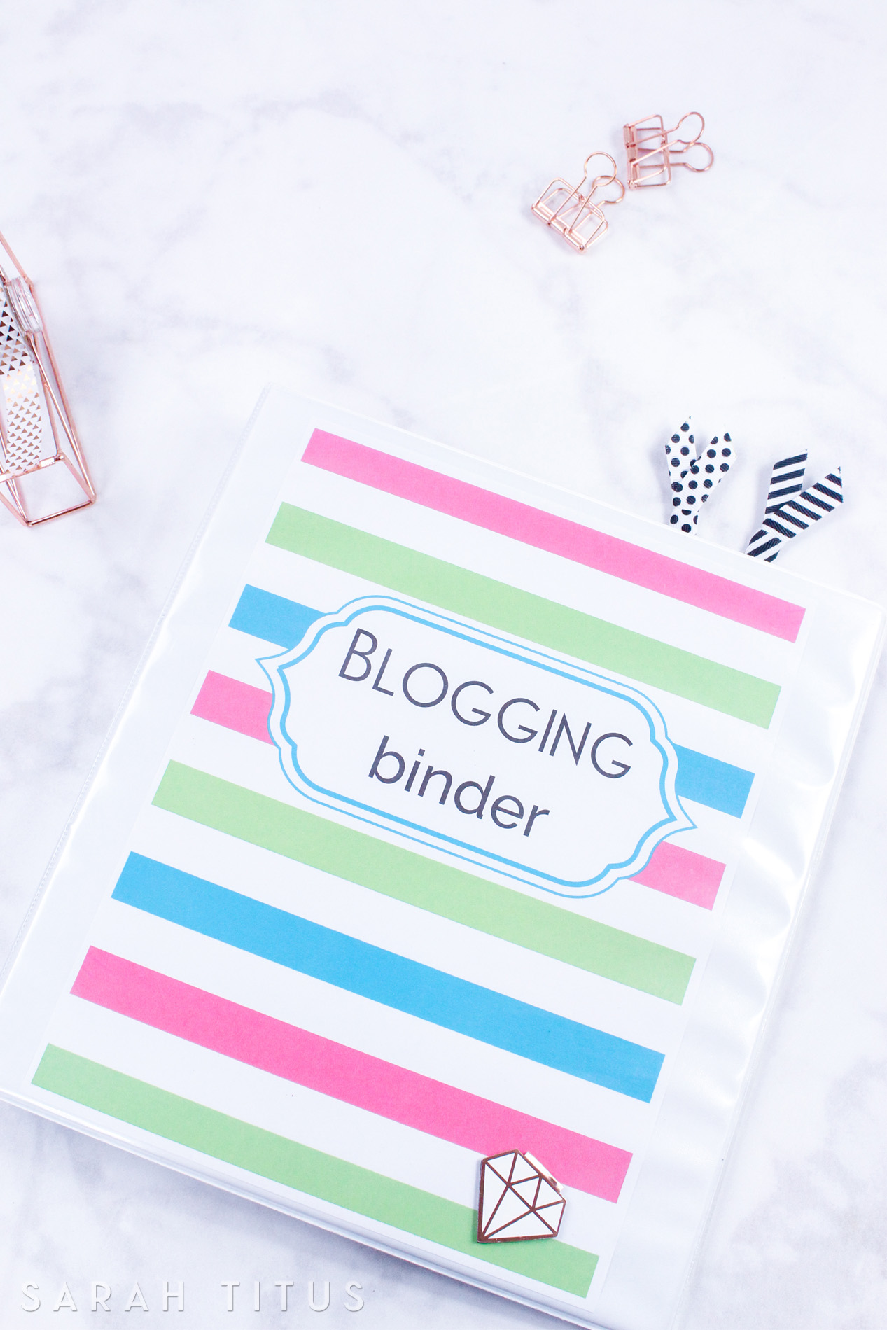 I've used many blog planners, but none of them really did what I wanted them to do. That is, until I created my OWN. At 180+ pages,  this is the one blogging binder you need!