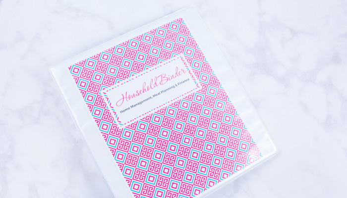 Household Binder Free Printables
