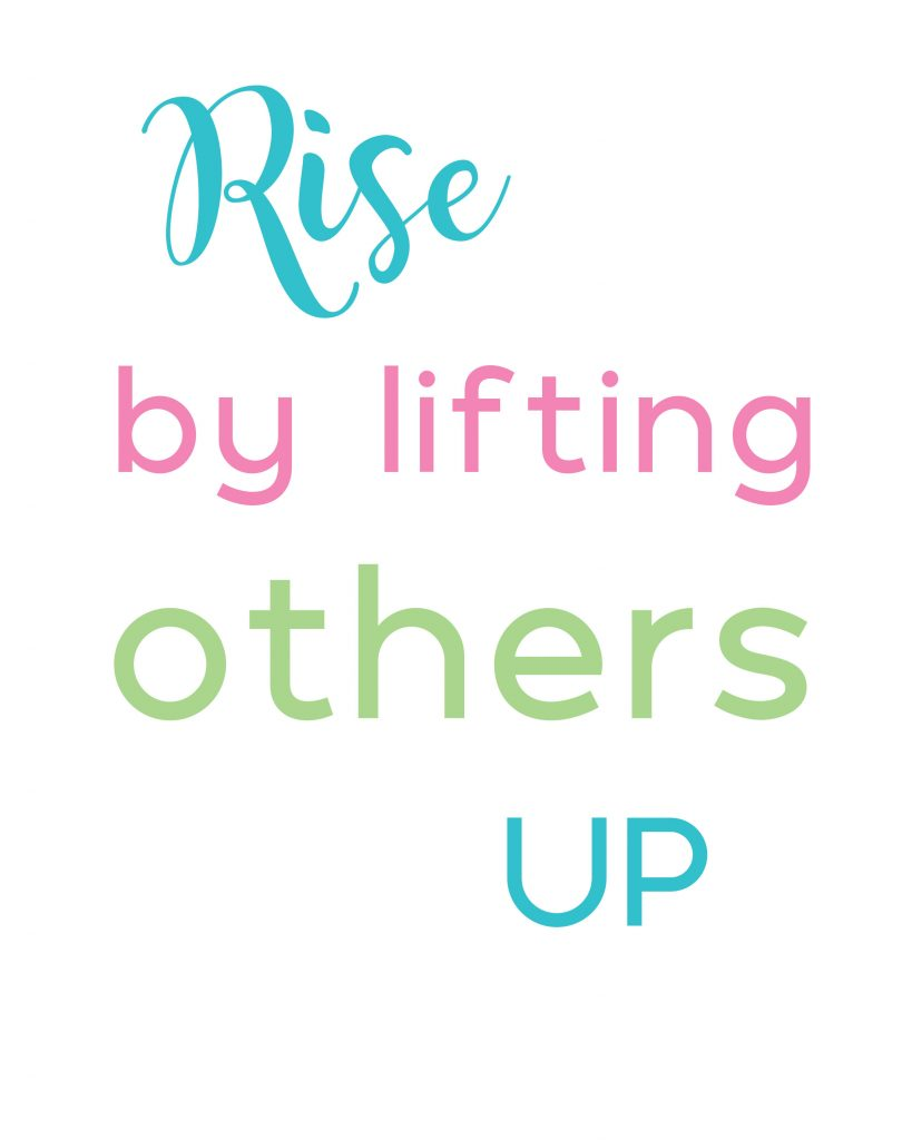 One of the best ways to be encouraged is by lifting other people up!