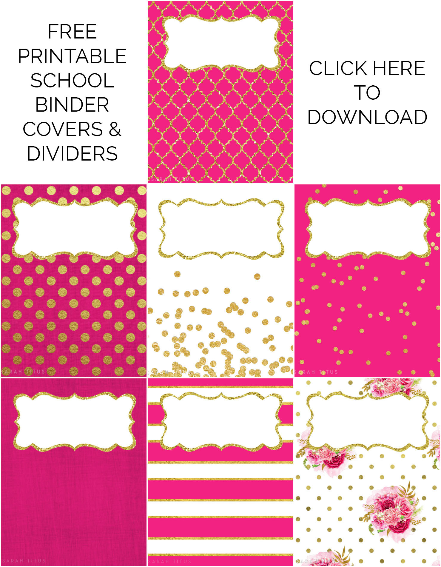 Ridiculous image regarding printable binder covers for school