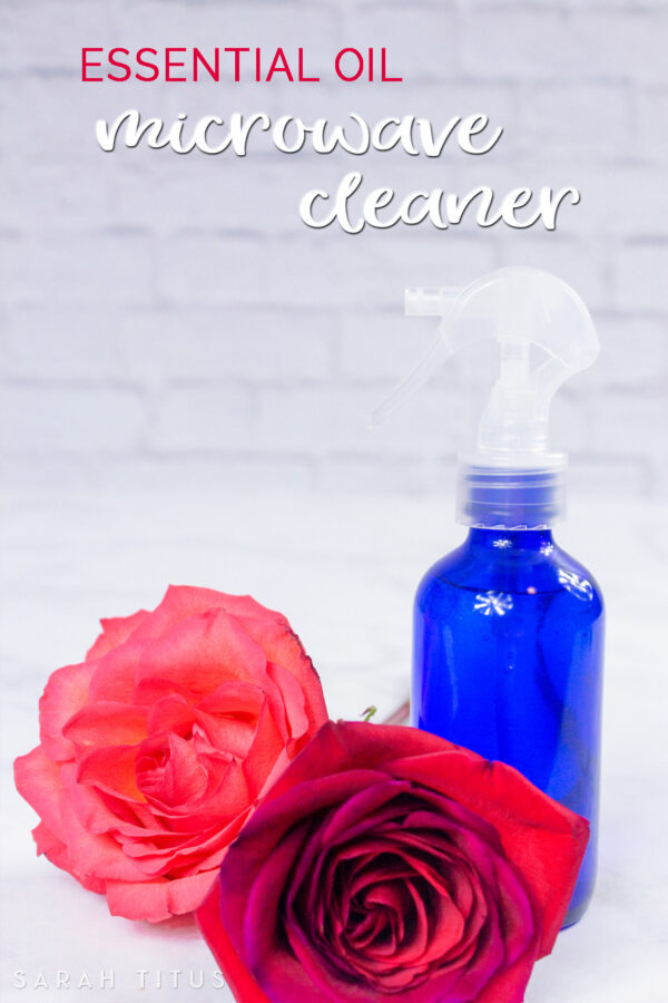 Essential Oil Microwave Cleaner