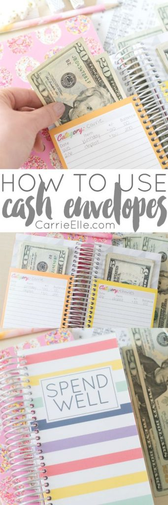 Having a Cash Envelope System is a great way to stay on a budget and stop using credit cards!