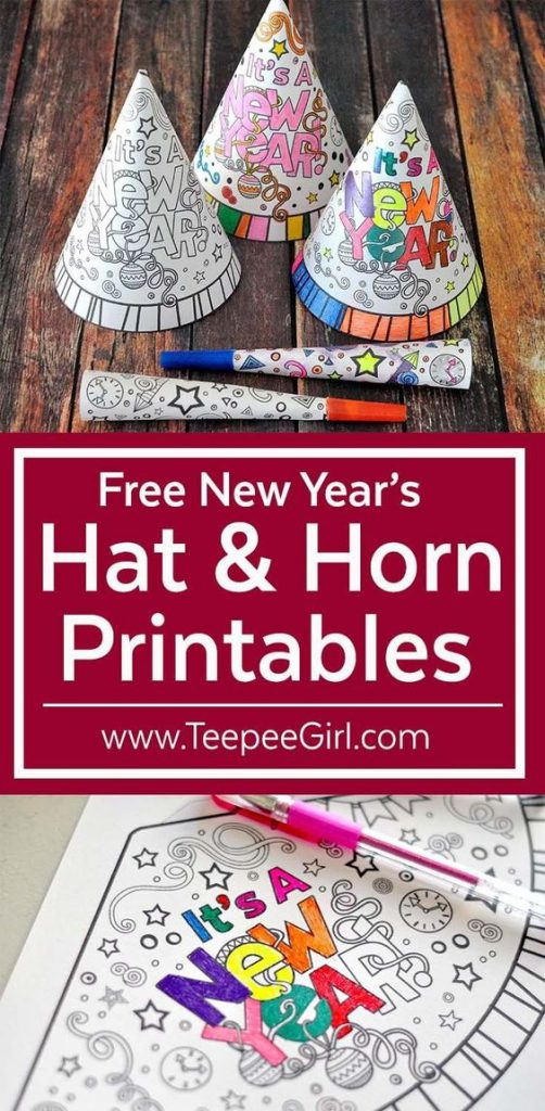 How fun and creative these hats and horns are? Your kids will love this activity.