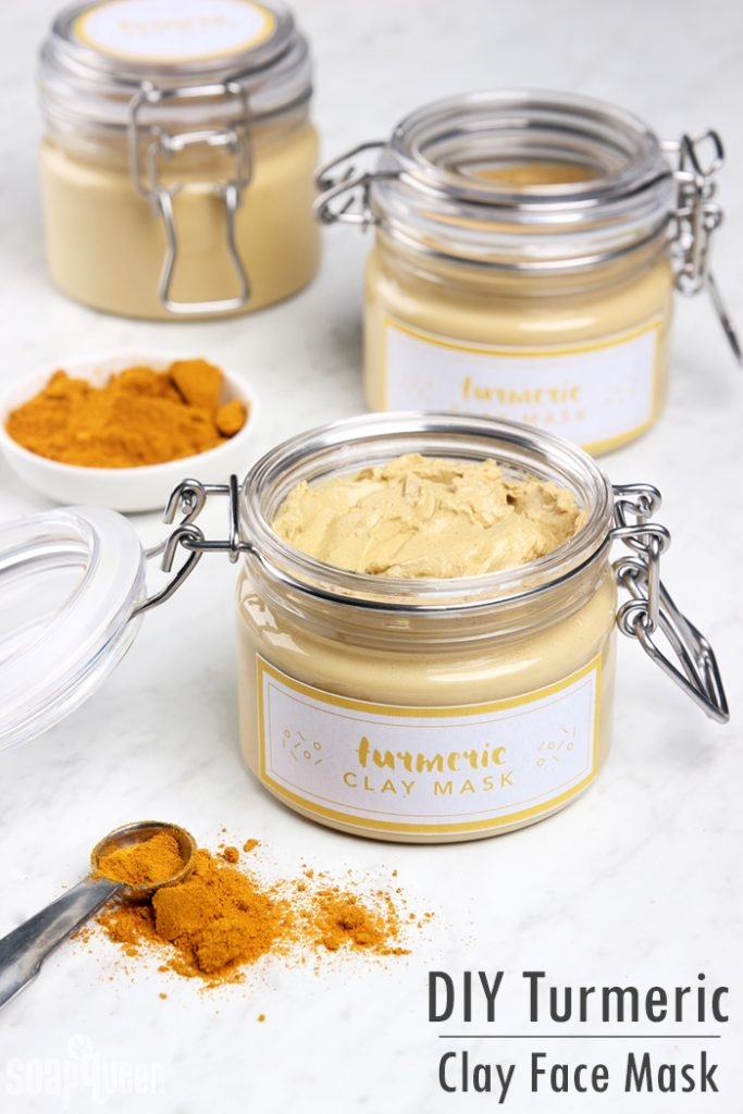Get all the benefits of Turmeric on your face with this amazing Clay Face Mask.