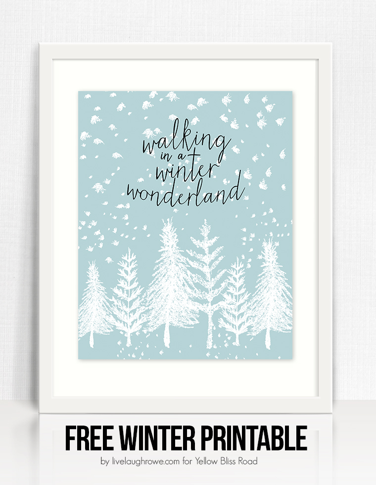 Gorgeous Wall Art for decorating your home during the cold season.