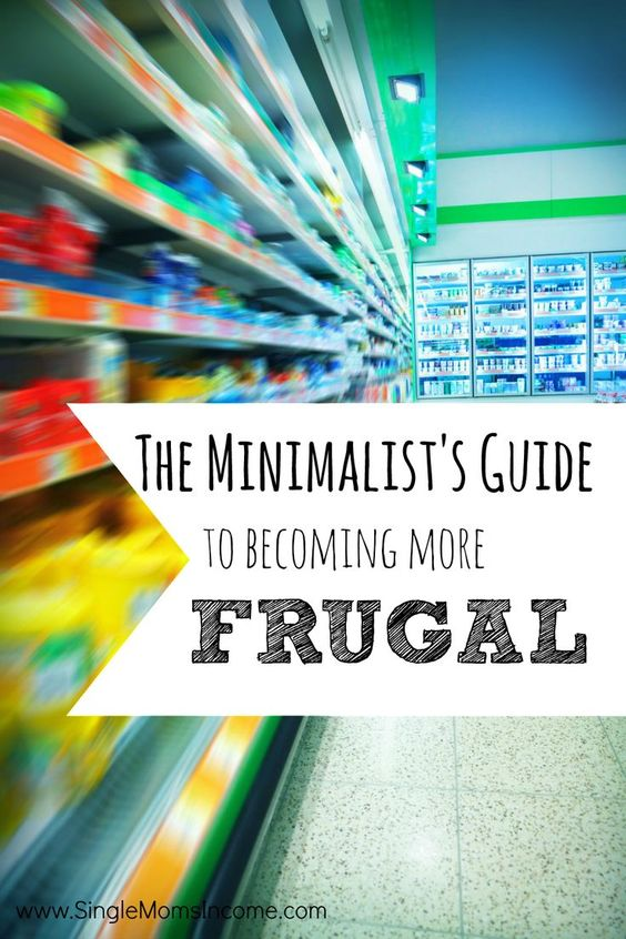 Being frugal doesn't have to be complicated thing! Find a minimalist way to save money.
