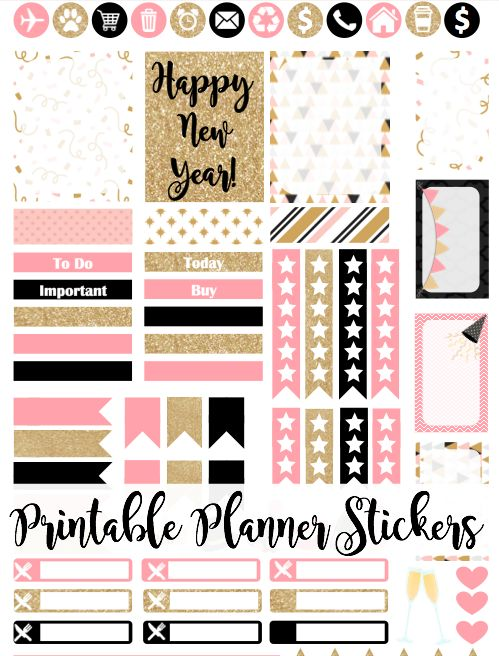 Love stickers like I do? These ones are extremely cute and practical for planning your next year!