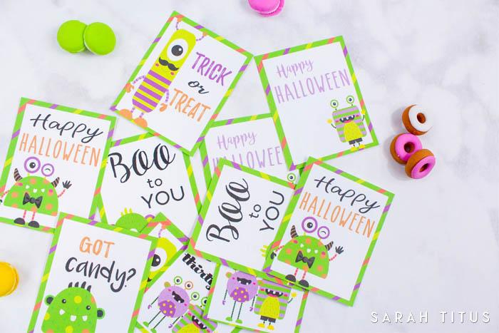 graphic regarding Printable Memory Cards identified as Halloween No cost Printable Memory Playing cards - Sarah Titus