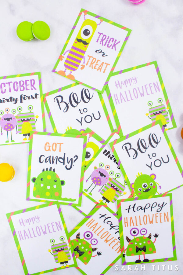 Halloween Free Printable Memory Cards