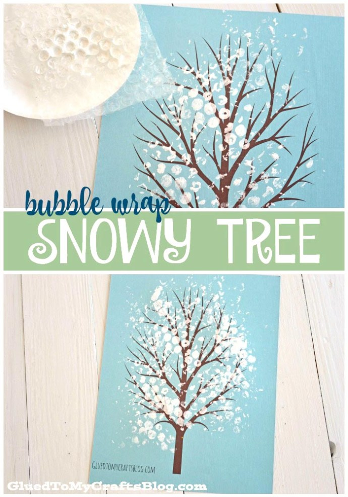 Cute craft to do with your little ones during the cold winter!