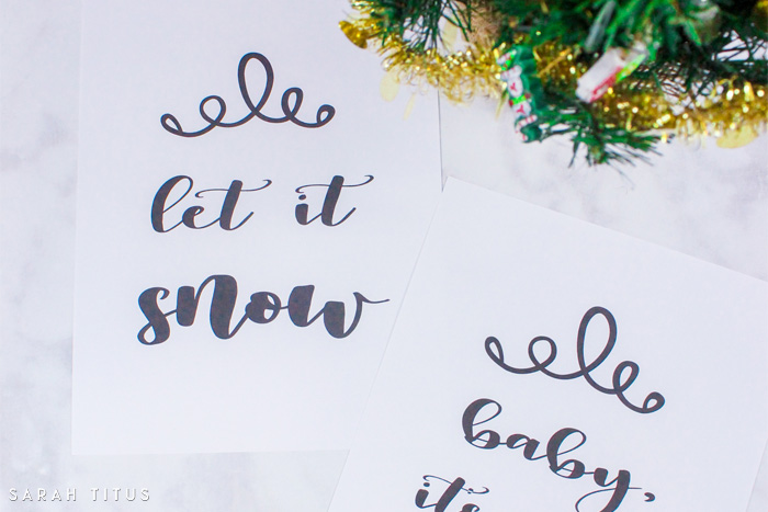 Free Printable Christmas Signs