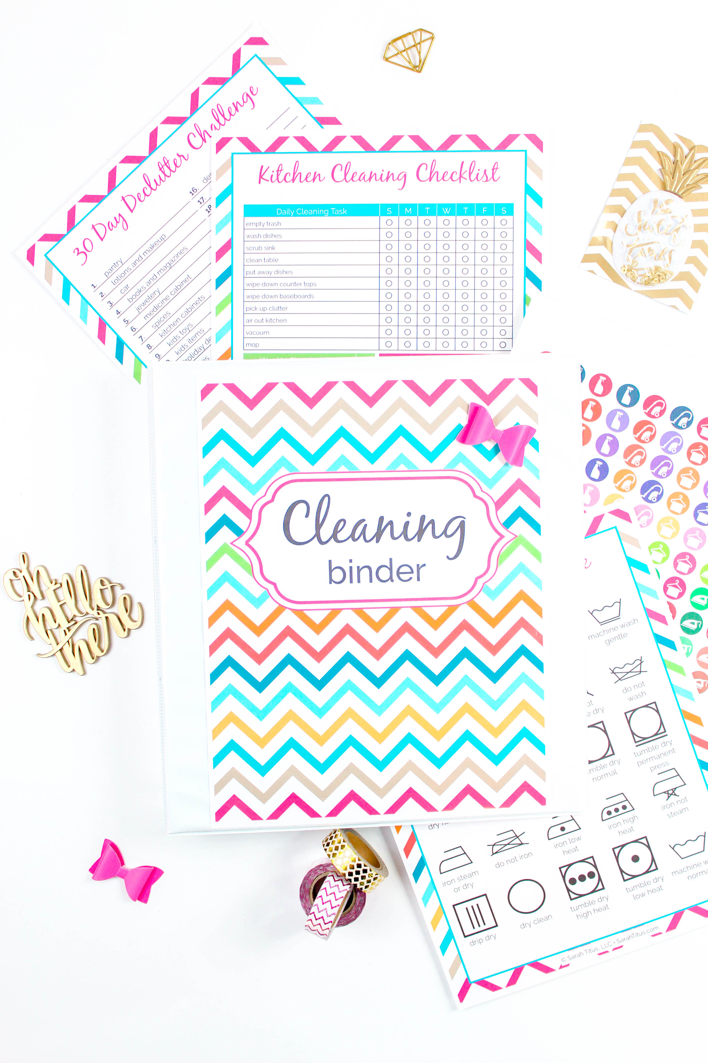 cleaning binder sarah titus