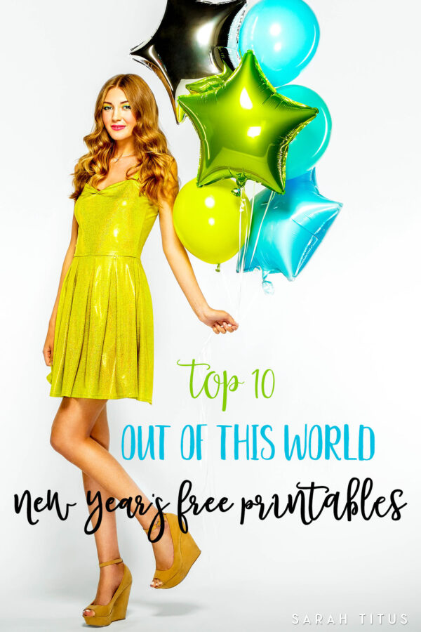 This year is almost gone. Celebrate the New Year in style (and keep the little ones busy) with theseTop 10 Out of This World New Years Free Printables.