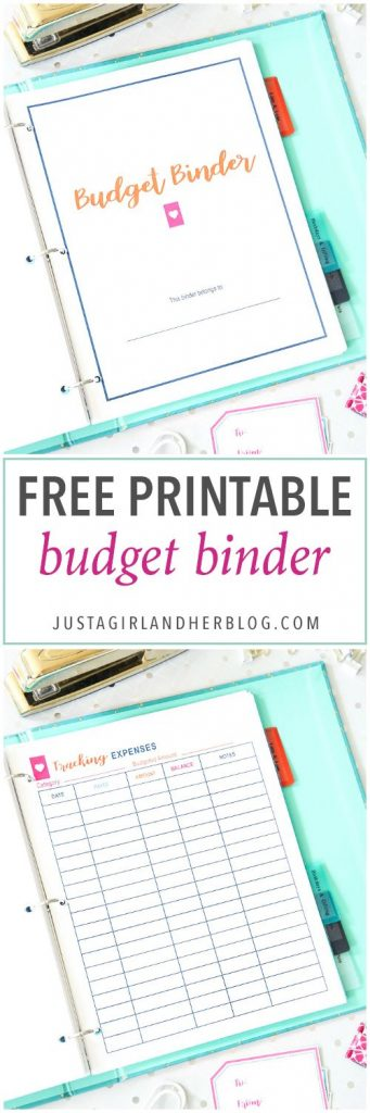 Start your year right by getting this great 2018 Budget Binder. It's extremely complete and it will help you to keep your finances in order!