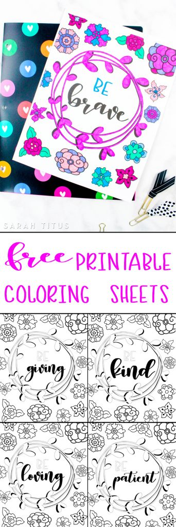 These FREE Printable Attitudes Coloring Sheets are so CUTE and easy to COLOR! Whether you are and adult or a kid, believe me, you will have a lot of fun!