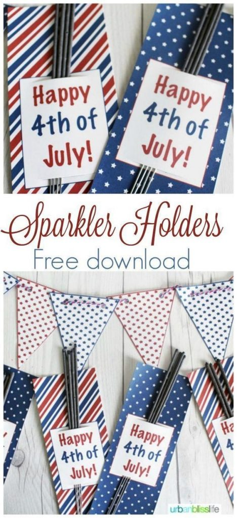 Hand these over to your guests and have fun by lighting some Sparkles this 4th of July.