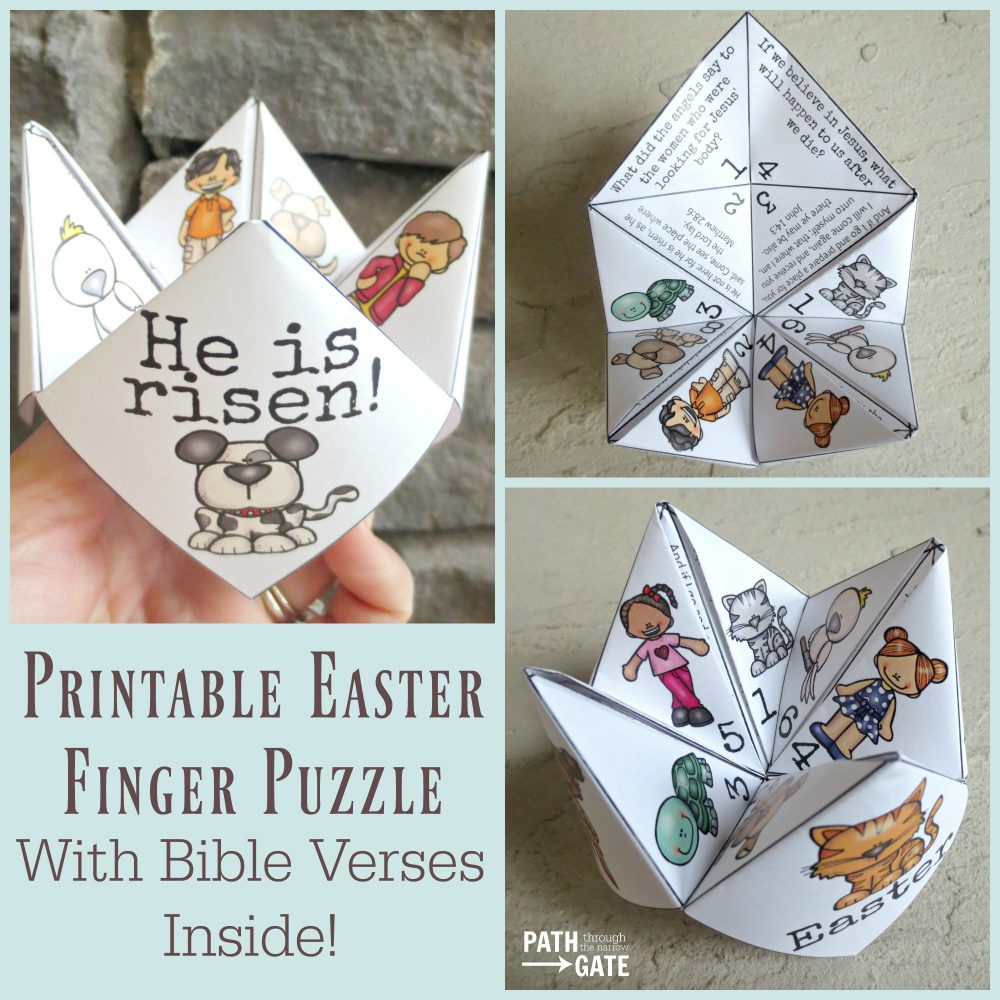 Your little ones will have so much fun and also learn with this Finger Puzzle printable.