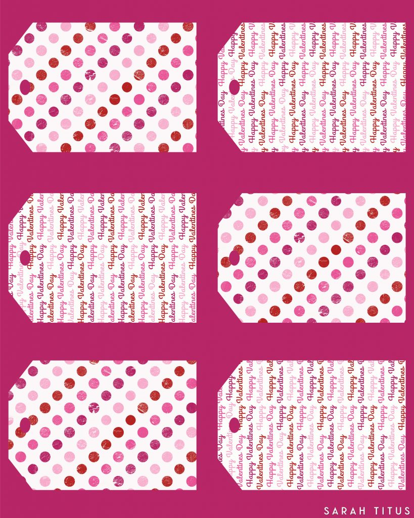 Youu0027ll Love These Free Printable Valentine Gift Tags! Not Only Will They  Save