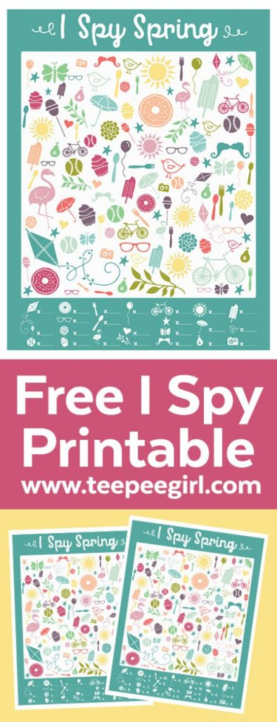 This is such a fun I-Spy free printable, your children will love it. Plus is a really good workout for their little brains.