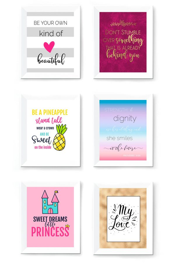Huge Wall Art Free Printables Bundle