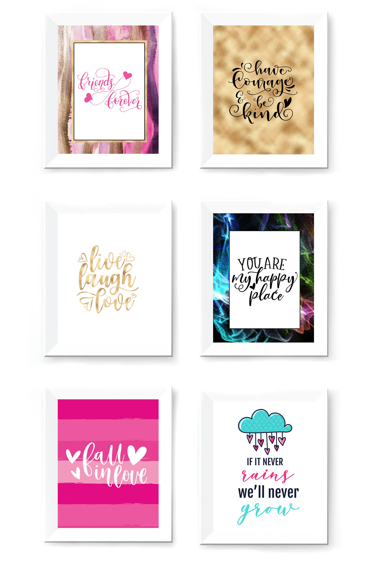 It is an image of Remarkable Free Wall Printables