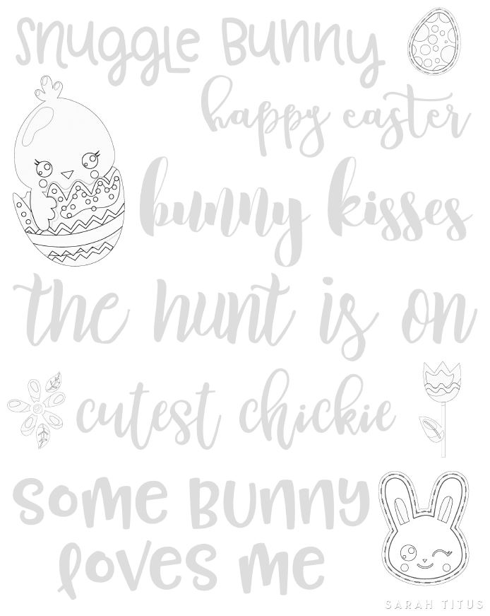 Hand Lettering is so much fun, but the biggest challenge is often a shaky hand! Join me and practice your skills with this Free Easter Hand Lettering Practice Sheet.
