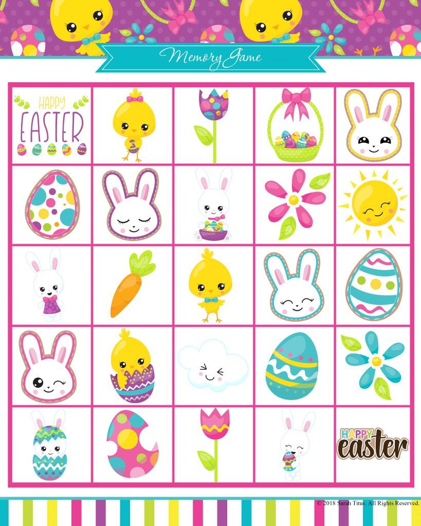 photograph regarding Printable Easter Games referred to as Totally free Printable Easter Online games Your Spouse and children Will Enjoy - Sarah Titus