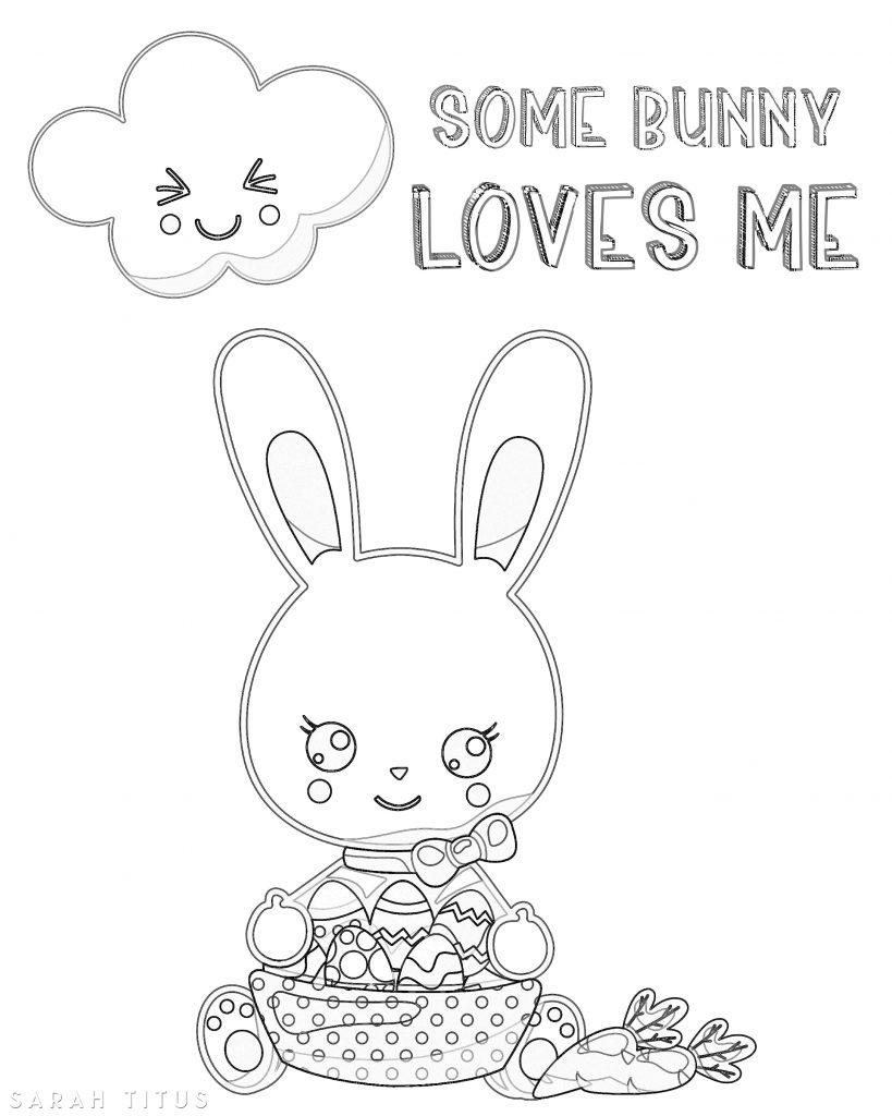 Free Printable Easter Coloring Sheets - Sarah Titus