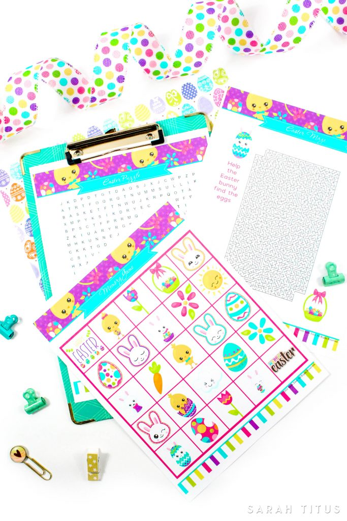 Since Easter is coming pretty soon - YAY! - I designed these super coolFree Printable Easter Games Your Family Will Love. They are so much fun, and best of all free :) Print as many copies as you want and play along with your little ones!