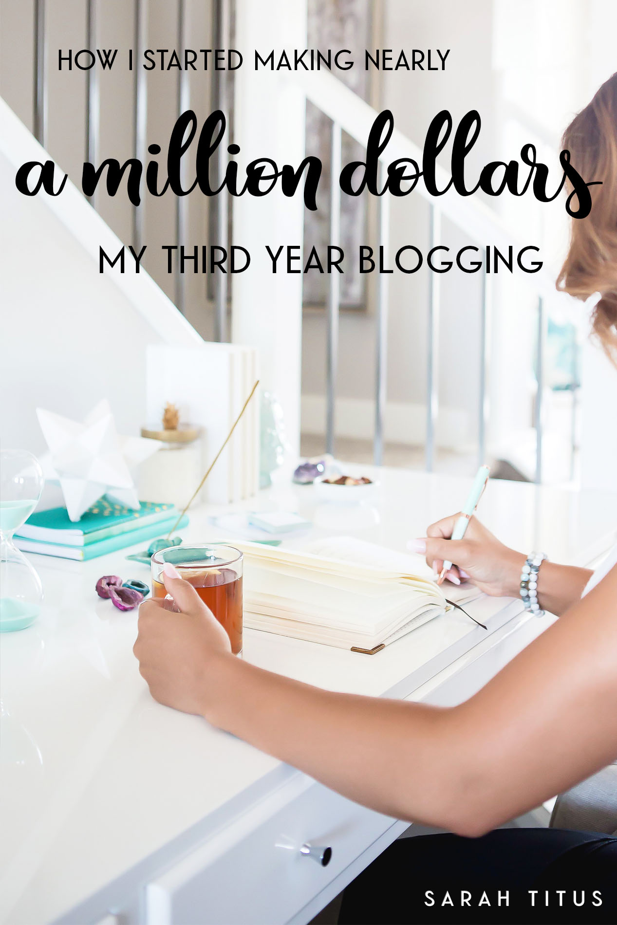 Who says it takes years to grow a successful blog? My third year blogging, I made nearly a million dollars!!! All as a single stay-at-home-mom!