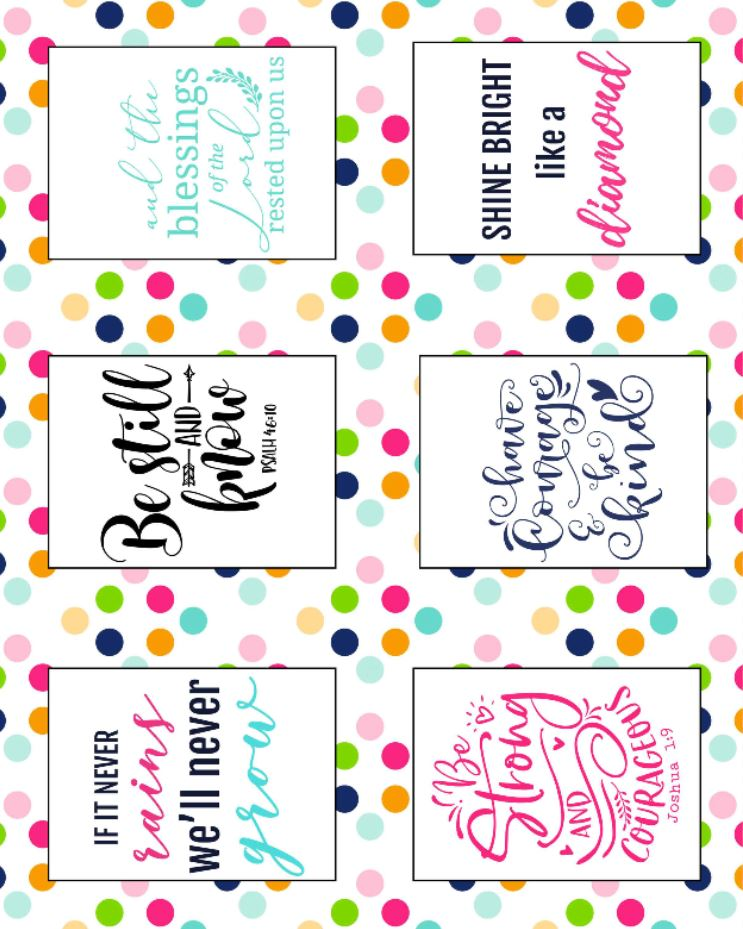 We all need a little reminder of how to be kind towards other people. I mean, sometimes, we just forget. Life gets busy and we don't take time to really consider how far an act of kindness can go. The Random Acts of Kindness Free Printable Cards are perfect for that! Easily brighten up someone's day up with these uplifting cards!