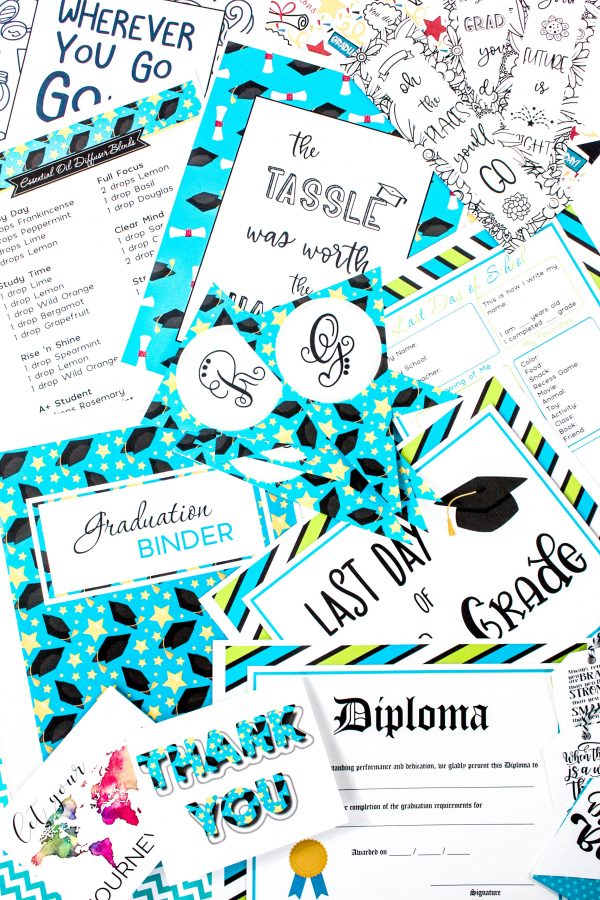 Graduation Binder {160+ pages)