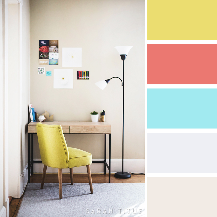 Decorating your home can be overwhelming; especially if you don't have any idea what colors you should use! Get all the inspiration you need with these beautiful 25 Home Decor Color Palettes.