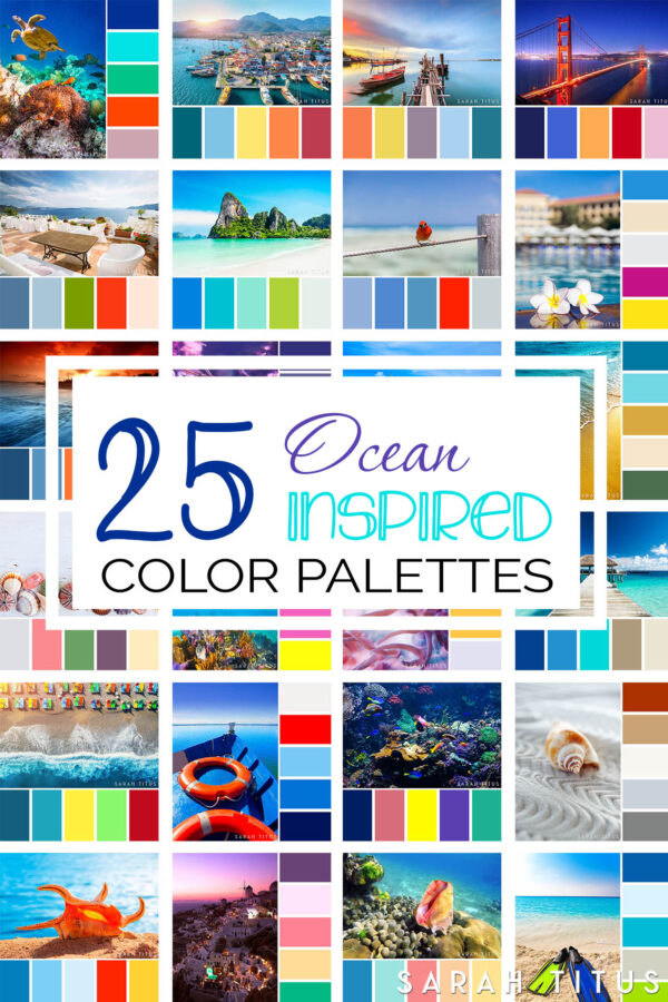 25 Ocean Inspired Color Palettes