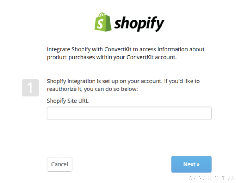 Build you email list in the most powerful way by learning How to Link ConvertKit to Shopify step by step. #converkit #shopify #buildyouremaillist #emaillist #blogging #howtoblog