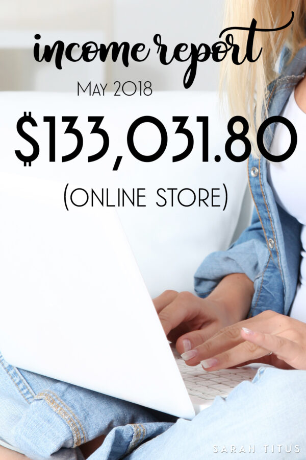 Shopify Store Income Report – $133,031.80 (May 2018)