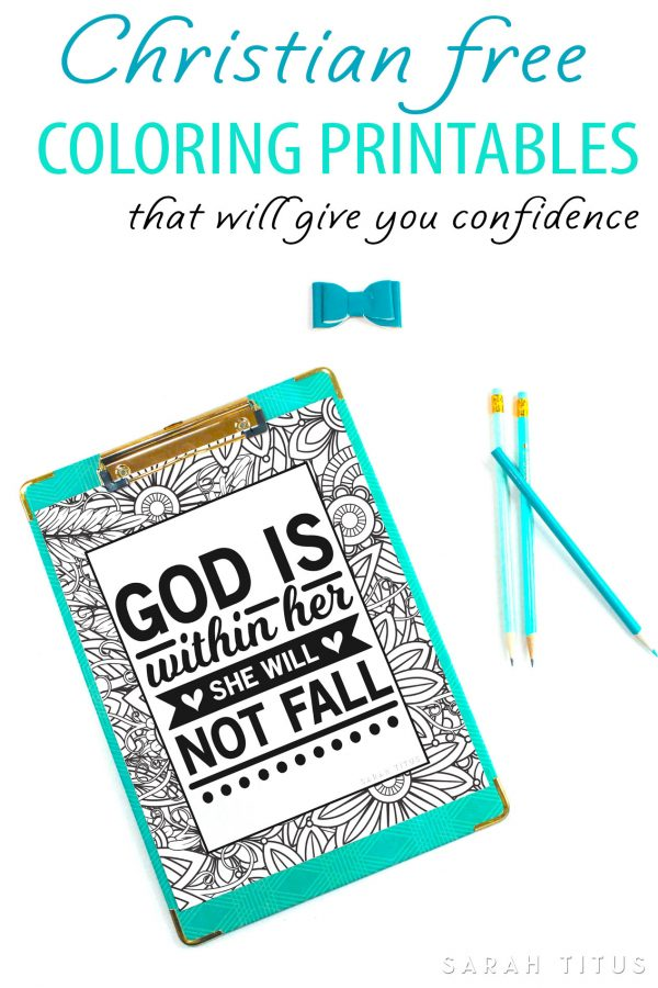 Christian Free Coloring Printables That Will Give You Confidence