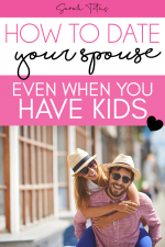 Are you longing for alone time with your spouse, but have little ones at home? Check out these date your spouse ideas of how you can keep romance alive, yes, even with littles!
