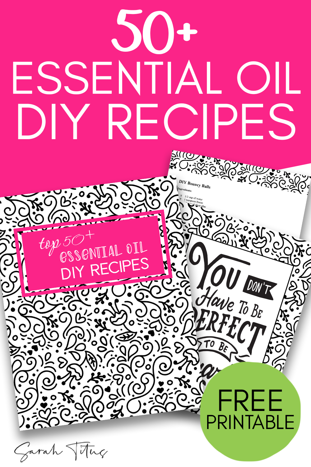photo relating to Printable List of Essential Oils and Their Uses referred to as Greatest 50+ Imperative Oils Do-it-yourself Recipes Do-It-By yourself - Sarah