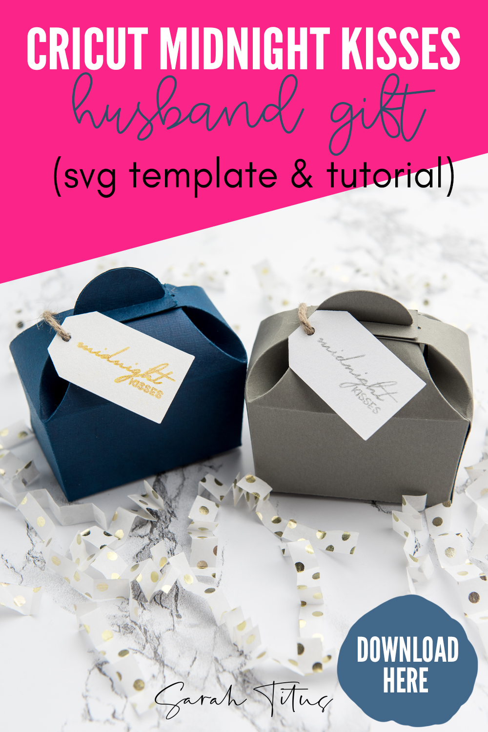 Cute DIY Surprise Gift Box Cricut For Your Loved Ones (+ SVG)